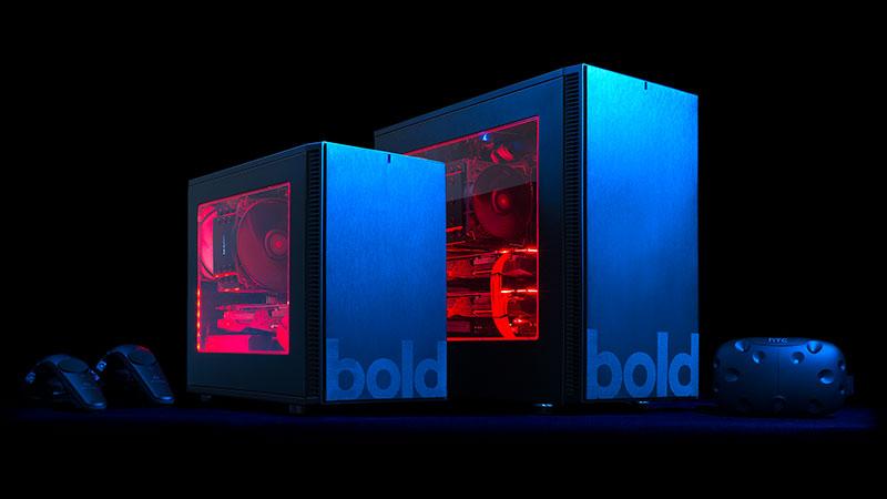 bold. Gaming PCs mit HTC VIVE