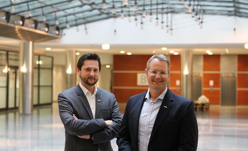Damian Izdebski und Gerald Reitmayr