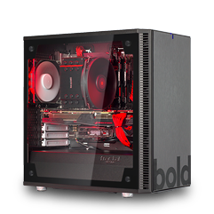 bold. Giant Gaming PC