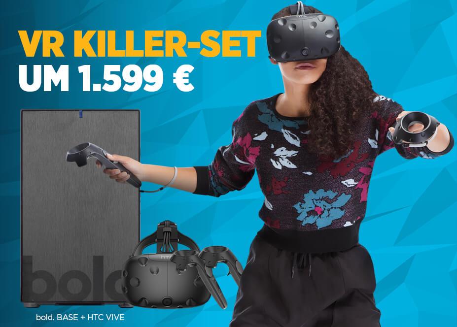 VR Killer-Set - bold. VIVE