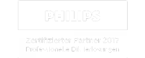 IT-Solutions - Philips Diktierlösungen Zertifizierter Partner Logo