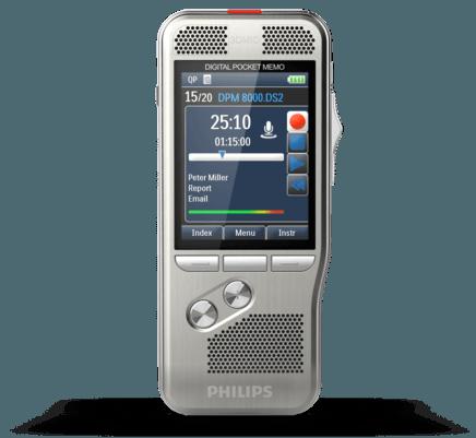 PocketMemo Diktiergerät DPM8000