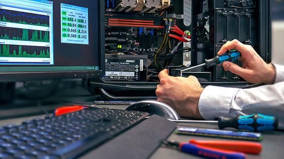 wir reparieren deinen Laptop, PC oder Mac