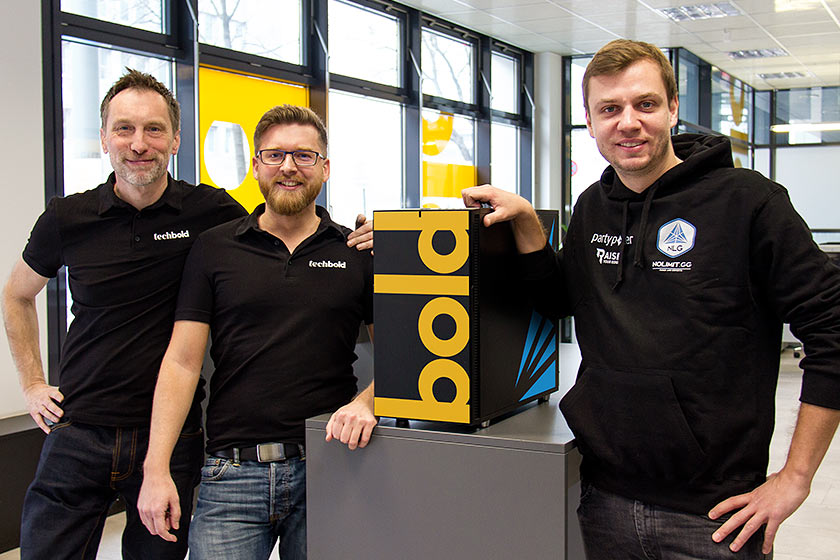 techbold ist Partner des No Limit Gaming eSports Teams