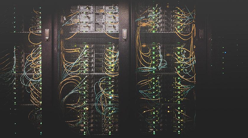 Serverschrank für Cloud oder Rechenzentrum
