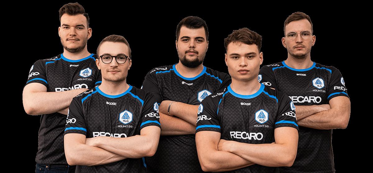 Das No Limit Gaming E-Sports Team