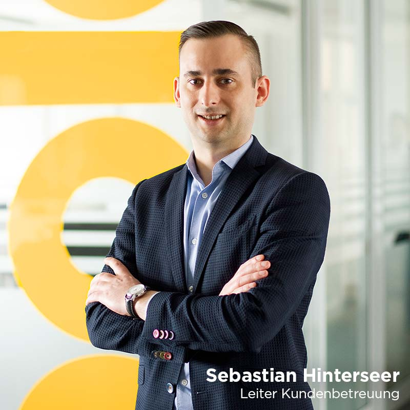 Sebastian Hinterseer, Head of Sales techbold